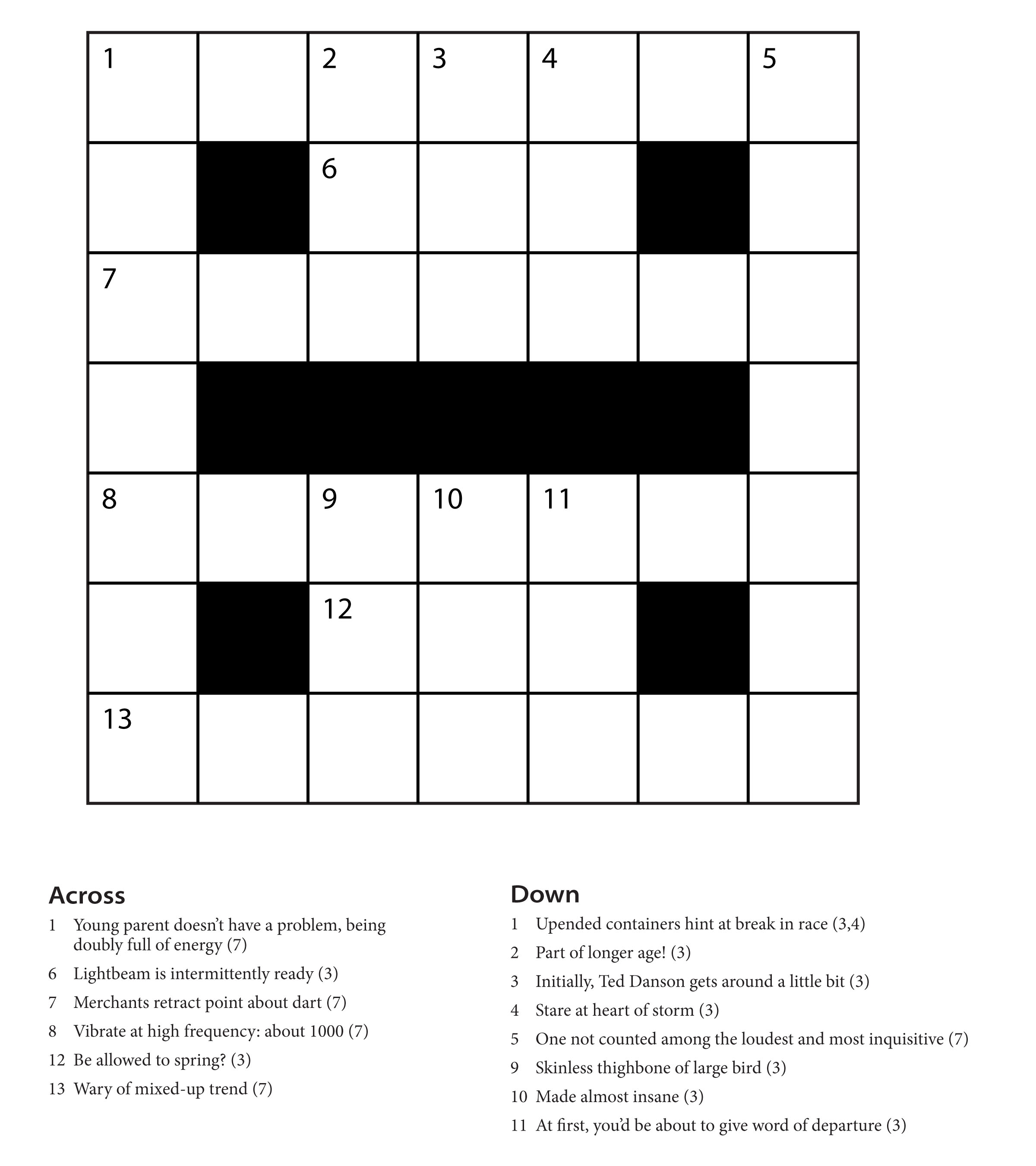 Bene Factum Cryptic Crosswords For Beginners